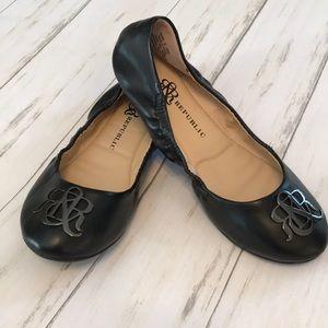 NWOT Rock & Republic Black Ballet Flats
